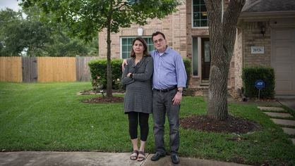 Homeowners Fault Government for Hurricane Harvey Damage