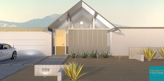 How mid century modern house plans are making a comeback for Eichler designs