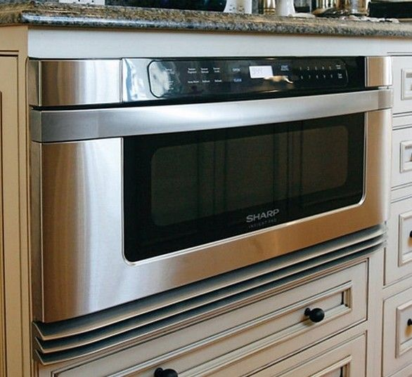 A Microwave Drawer Like This Sharp Model Helps Streamline Your Kitchen