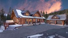 Rustic but Refined: 10 Luxurious Log Cabins Priced Over $2M