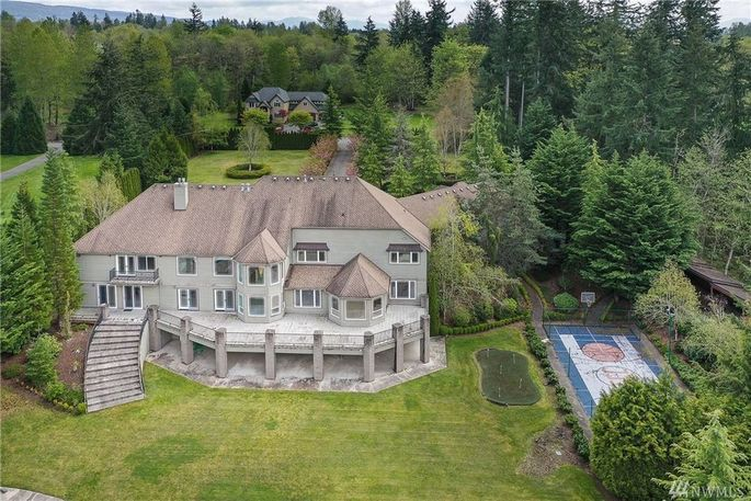 Shawn Kemp's Seattle-area home