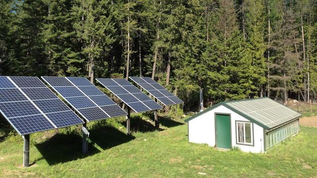 Self-sustaining power sources such as solar are key.