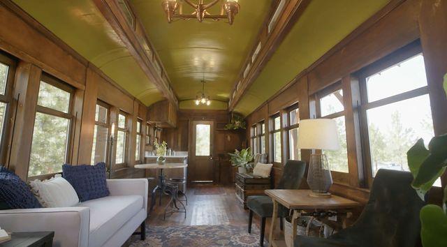 interior train