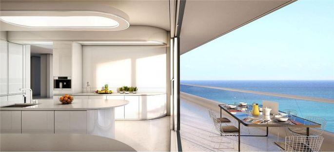 Apenthouse unit on Miami Beach, FL, listing for $55 million