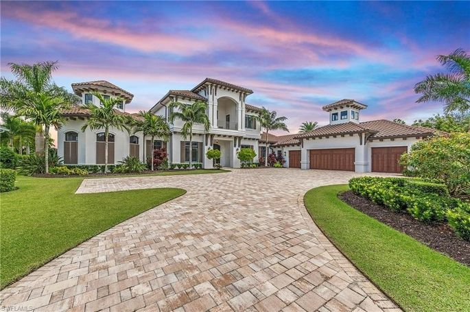 Front exterior of home in Naples, FL