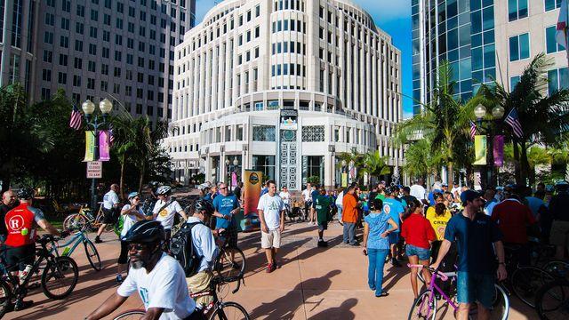 Bike to Work Day in Orlando