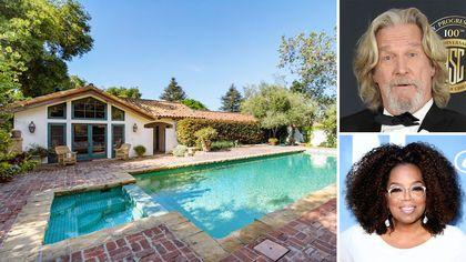Jeff Bridges Sells Montecito Compound to Oprah Winfrey for $6.85M