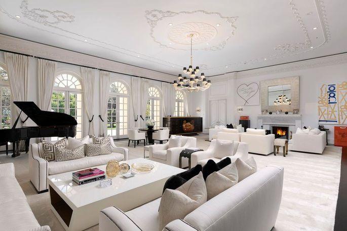 Interior of The Manor