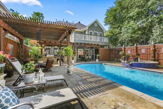 A home for sale in Dallas, TX