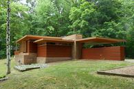 Usonian Classic in Michigan Designed by Frank Lloyd Wright Available for $479K