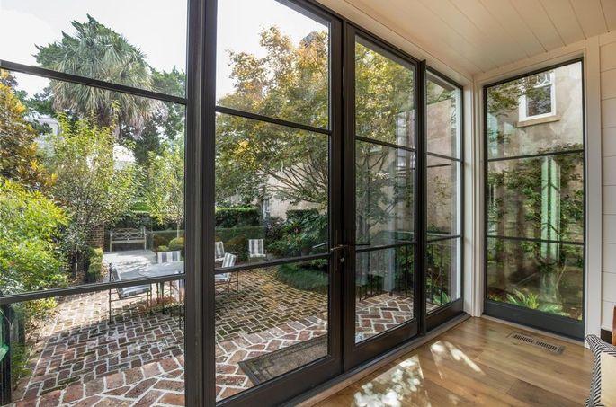 Floor to ceiling windows and doors