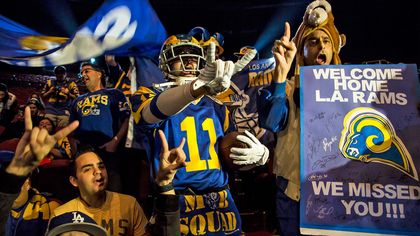 What Impact Will the Return of the NFL's Rams Have on L.A. Real Estate?
