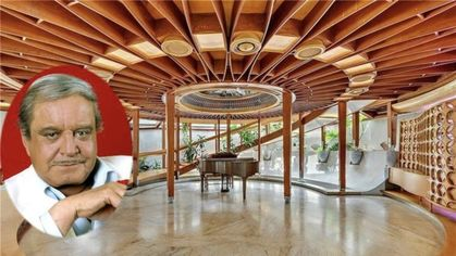 Jackie Gleason's Spaceship-Like Party House in the Woods Is Listed for $12M