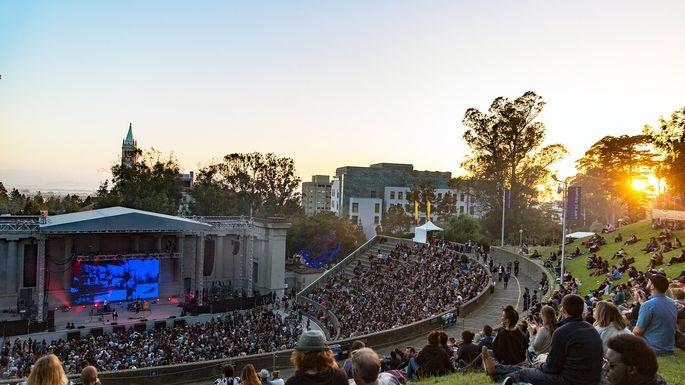 The Hearst Greek Theatre in Berkeley, CA