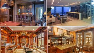 Bottoms Up! We're Toasting 7 Spectacular Home Bars