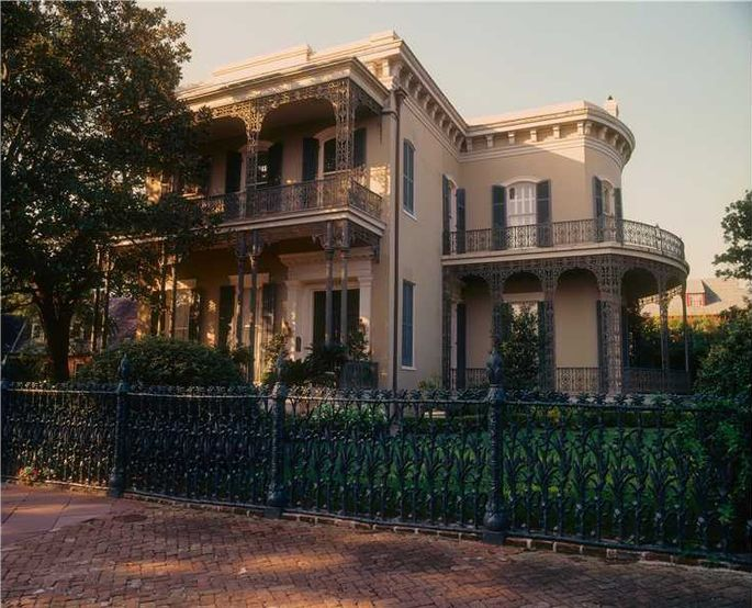 6 5m Garden District Mansion In New Orleans Has History