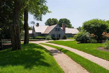 Historical Cape Cod Home of Stage Legend Julie Harris Finds a New Owner