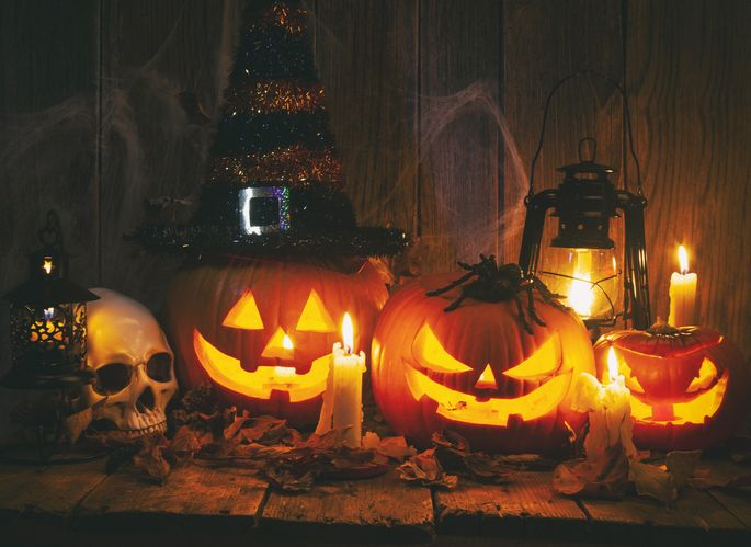 Ditch the candles on Halloween.