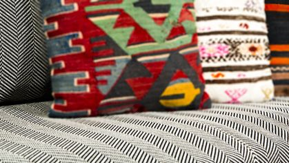 How to Decorate Your Home With Twill, This Winter's Hottest Textile