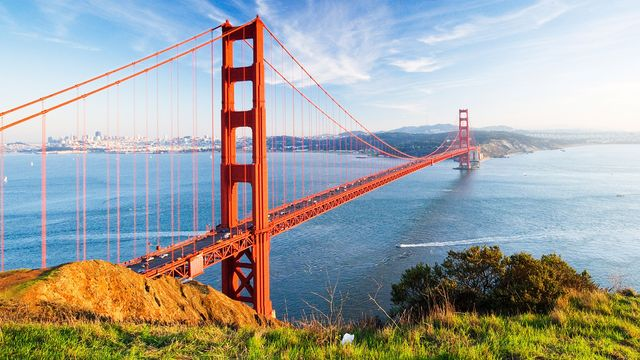 The Golden Gate Bridge: It's expensive no matter which side you live on.