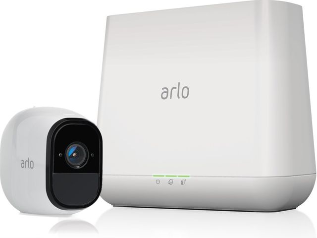 Arlo Pro's security cameras are wireless—and easy to set up.
