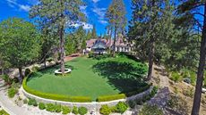 High Time to Sell Hilltop? Luxe Getaway in Lake Arrowhead Is Back on the Market