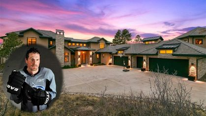 Milan Hejduk's Mansion With Ice Rink and Custom Zamboni in Colorado Is Listed for $5.2M
