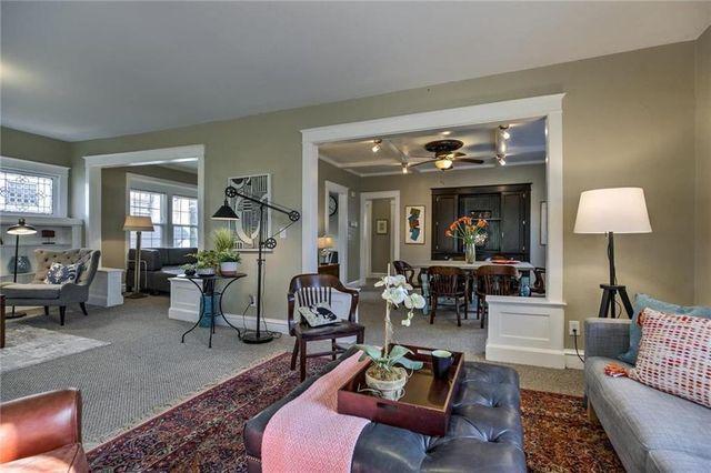 Renovated interior - Beacon Hill home