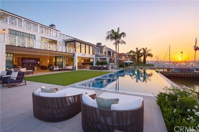 45m Newport Beach Mansion Comes With