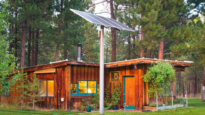 Live Off Grid House Solar