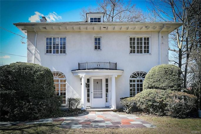 This Colonial in Hastings-on-Hudson, N.Y., was first listed in March for $1.095 million and is now on its fifth reduction, with the current price at $849,000.
