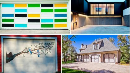 7 Garage Door Ideas That Are Anything But Boring