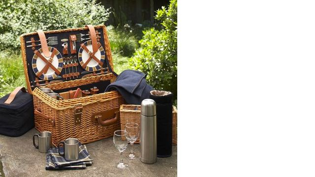 You'll need to have a lot of picnics to get your money's worth out of this $300 set.