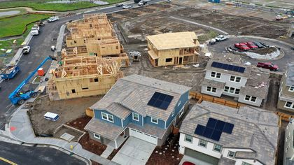 U.S. New Home Sales Rose in December