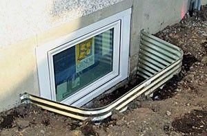 Basement window well. Credit Legacy Windows //flic.kr/ & How to Install Prefabricated Window Wells - realtor.com   realtor.com®