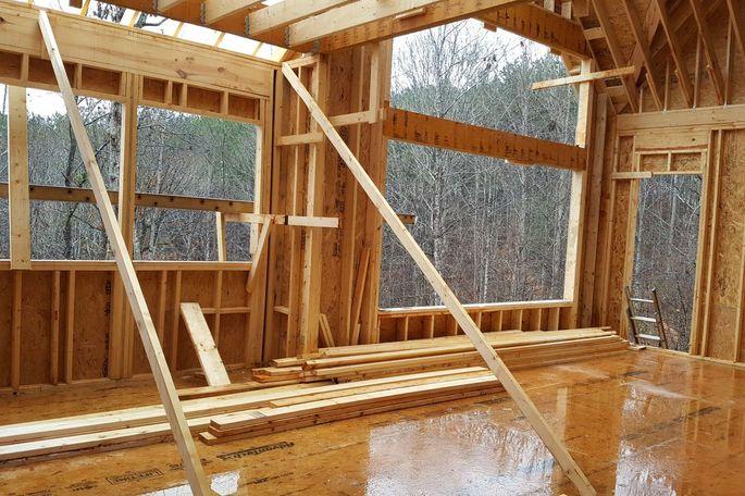 Record rains delayed construction work.