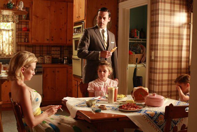 Don and Betty Draper's suburban home