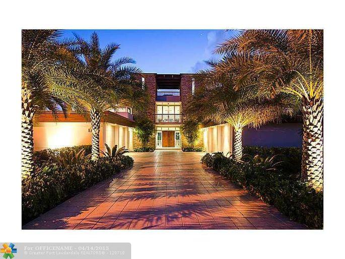 Ndamukong Suh's mansion in Ft. Lauderdale, FL