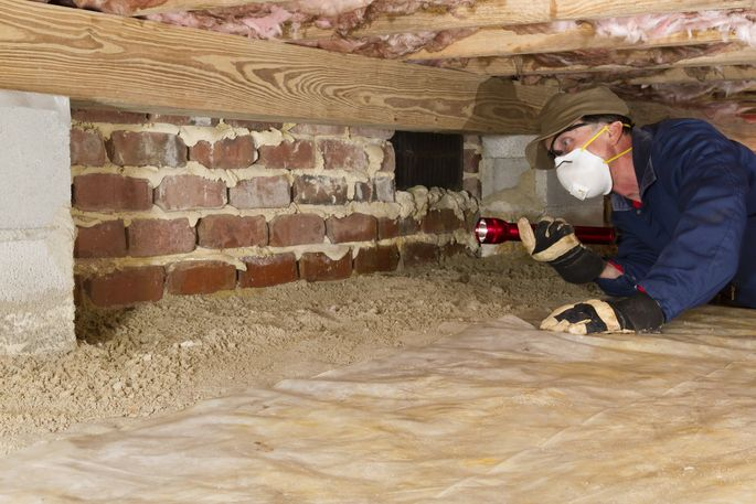 What is a crawl space an eye opening peek underneath your for What does crawl space foundation mean