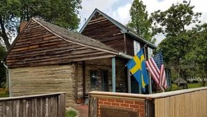 Built in 1638, the Oldest Log Cabin in the U.S. Is for Sale in New Jersey