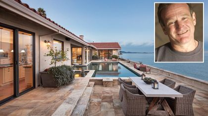 After a Year on the Market, Robin Williams' Former Home in Tiburon, CA, Finds a Buyer