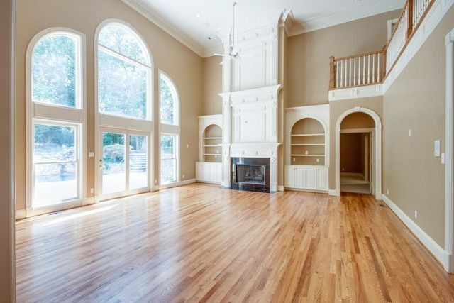 A grand living area