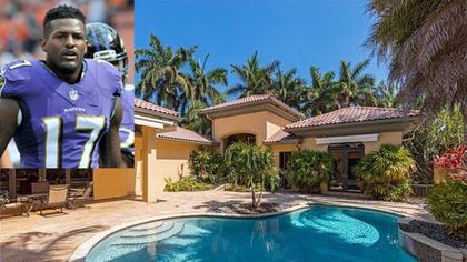 Ravens WR Mike Wallace's Florida Home Looks Like a Cool Catch