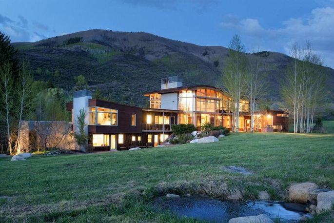 Our most expensive new listings have celebrity connections for Celebrity homes in aspen