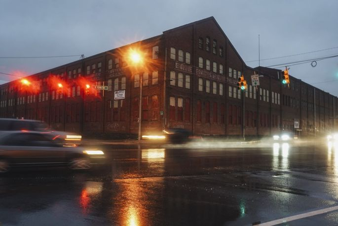 Erie Mill & Press Co. building in Erie, Pa.