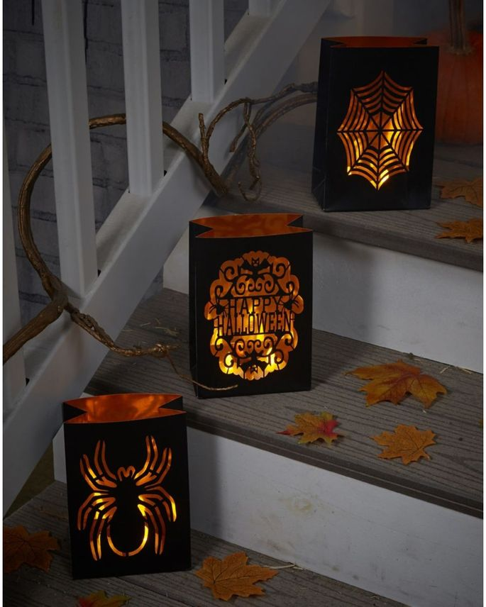 Luminary bags are a great, festive addition to the front of your home.
