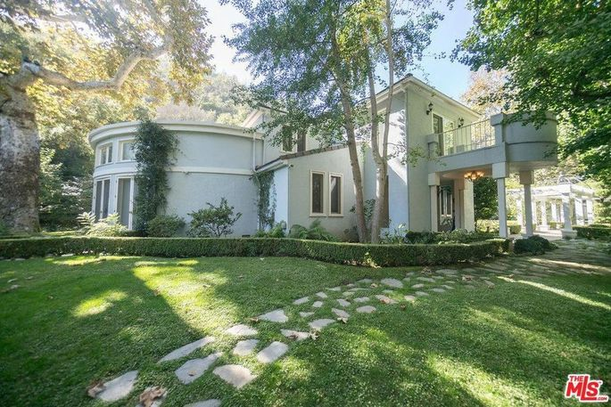 Williams' Bel Air home, which is listed for sale