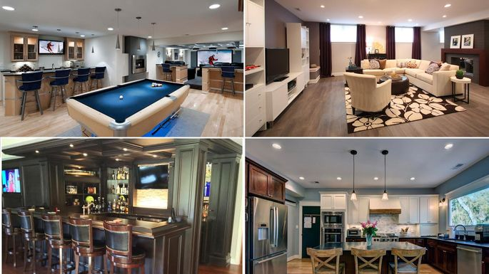 These 48 Fab Remodels Prove Your Basement Is Wasted On You Realtor Beauteous Average Cost Basement Remodel Minimalist