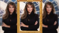 What Melania Trump's New White House Portrait Really Says About Her—and Us