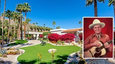 'Singing Cowboy' Gene Autry's $8.25M Palm Springs Compound Is a Desert Delight